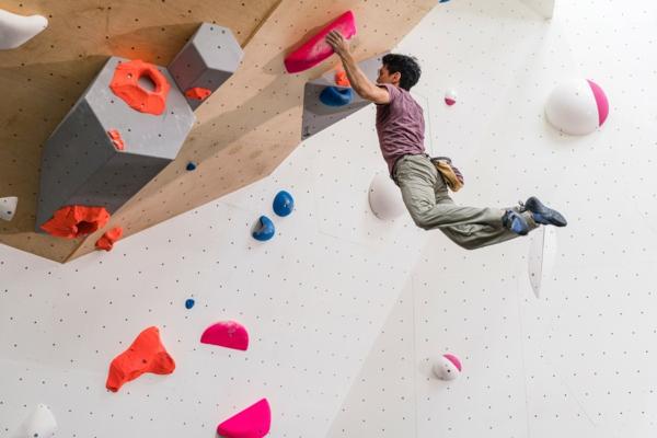 Bouldern Klettern ohne Seil Schwierigkeitsgrad