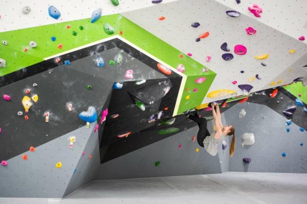 Bouldern Sportklettern Kletterwand Schwierigkeitsgrad