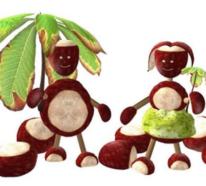 70 Kastanienfiguren und Deko für gemütliche Herbststimmung von Kindern und Erwachsenen