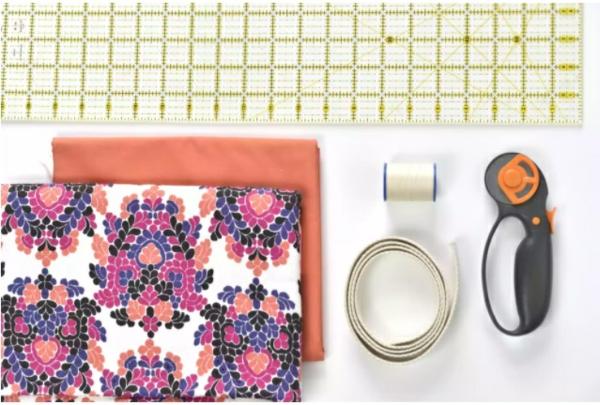 Einkaufstasche nähen Anleitung Materialien