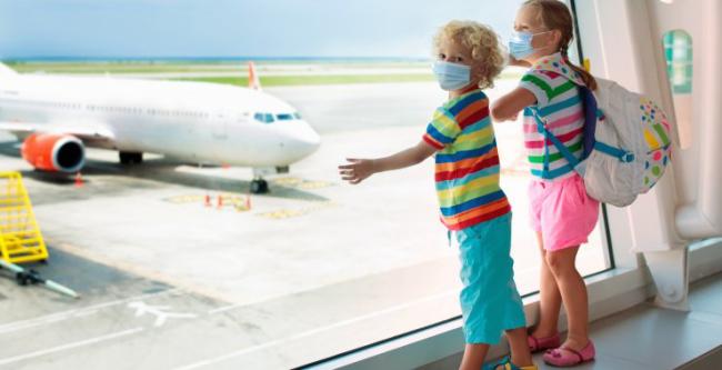 Fliegen während Corona EU-weit Mundschutzmasken obligatorisch für Kinder ab 6 Jahren