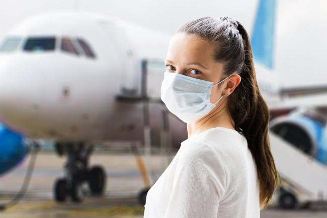 Fliegen während Corona vorgeschriebenen Hygiene- und Sicherheitsmaßnahmen kennen die Regeln einhalten