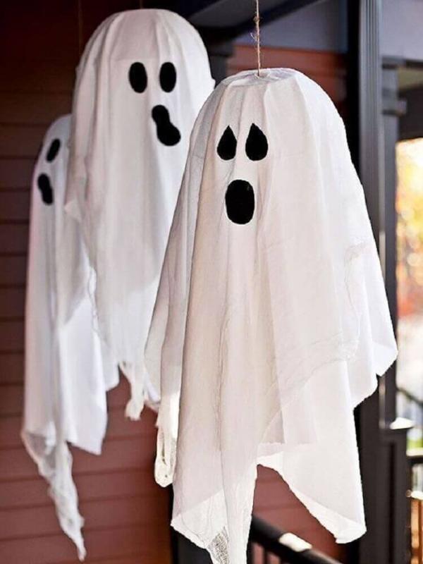 Halloween Deko Sehr einfache Bastelideen