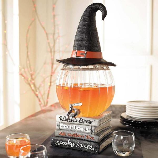 Halloween Deko tolle und schöne Tischgestaltung