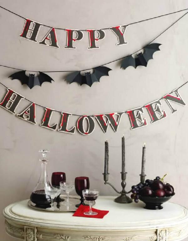 Halloween Deko wanddeko deko Halloween