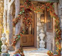 Herbstdeko für draußen – tolle Ideen von rustikal bis modern