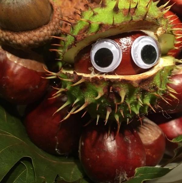 Kastanienfiguren Kleine Gaben - tolle DIY Ideen