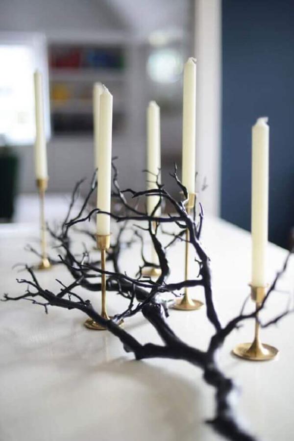 Kerzen Dekoration Halloween Deko