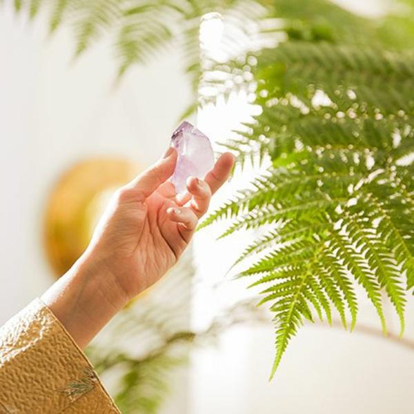 Kristallwasser Kristalle reinigen und aufladen
