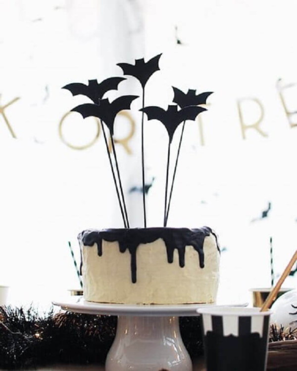 Kuchen Ideen Halloween Deko