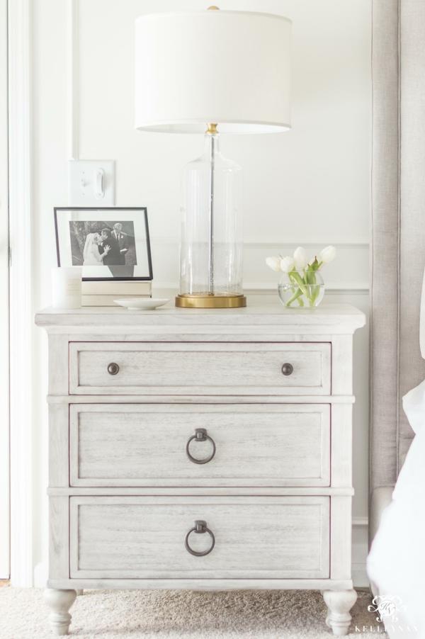 Mit Kalkfarbe streichen Holz tünchen vintage Look