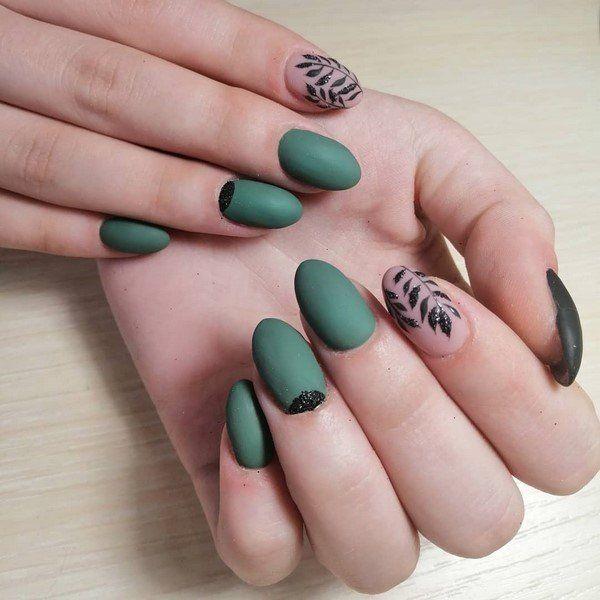 Nagel Trends - grüne Nagelgestaltung