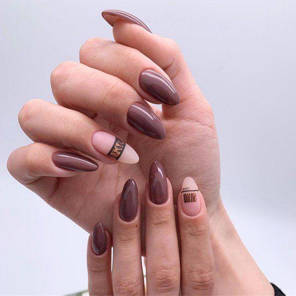 Nagel Trends neutrale Gestaltung Nägel