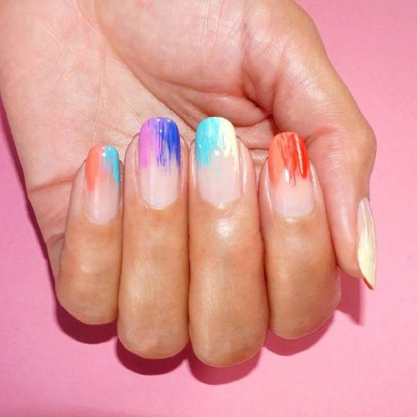 Nagel Trends verschiedene Farben - Ideen