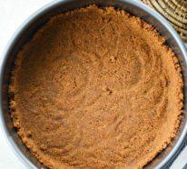 Köstlichen No Bake Kürbiskäsekuchen zubereiten: ein schnelles und einfaches Rezept