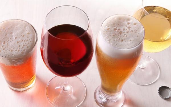 Salzersatz weniger Salz zu sich nehmen mit Bier und Wein kochen