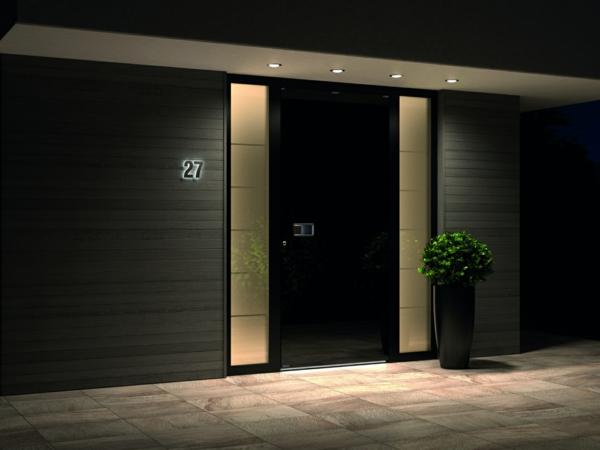 Tolle Ideen für die Haustür Pirnar-Eingang-Sympathische-Lichter