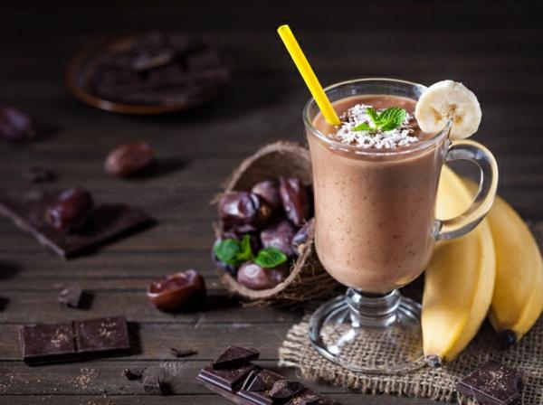 Warme Smoothies Wintergetränke Kakaobohnen