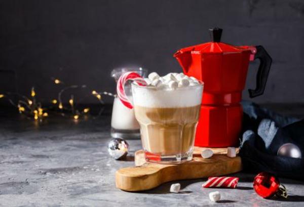 Warme Smoothies Wintergetränke Tee Kaffeegetränke