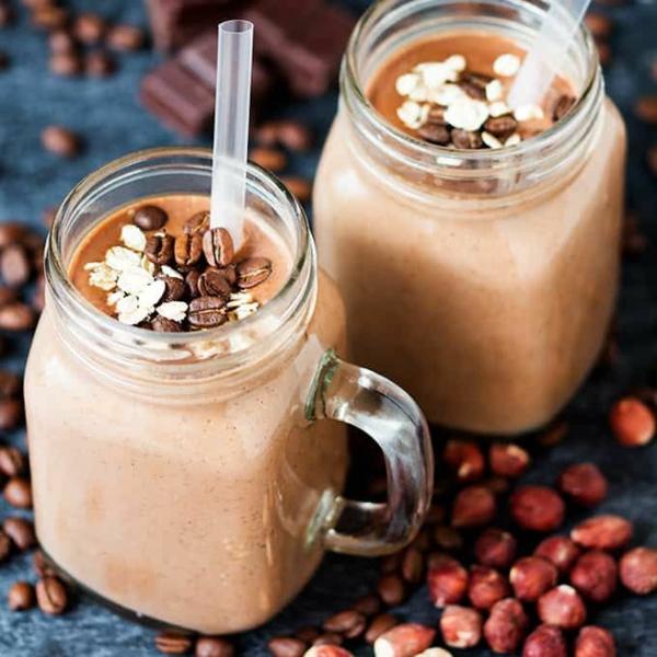 Warme Smoothies Wintergetränke gesunde Ernährung