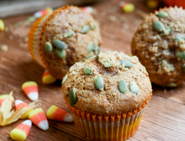 Warum ist Kürbis gesund Kürbis Muffins Kürbiskerne