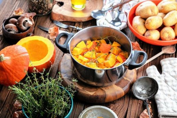 Warum ist Kürbis gesund Kürbisgerichte zubereiten
