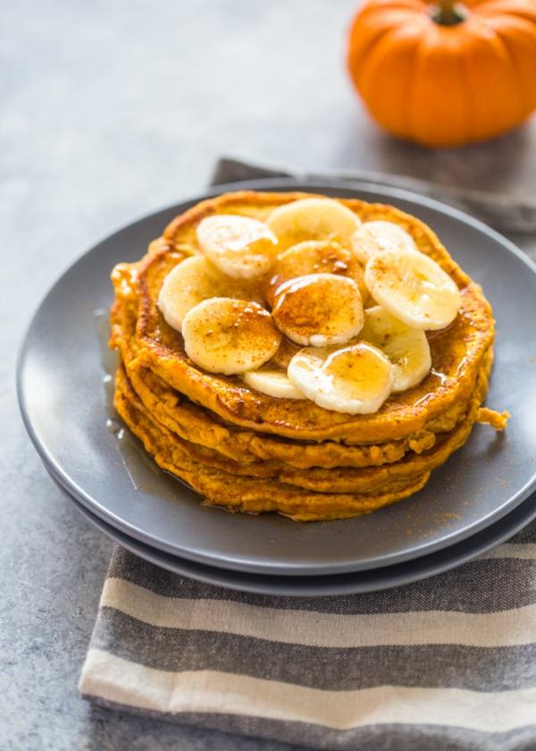Warum ist Kürbis gesund Pfannkuchen