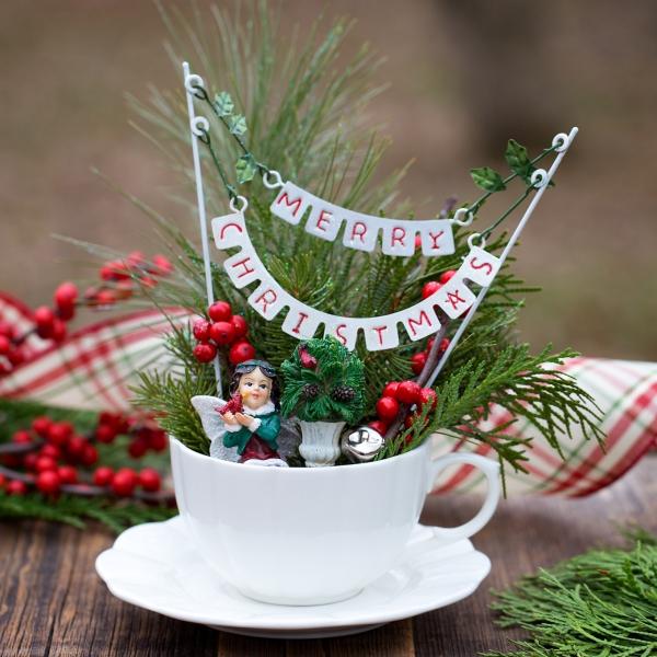 Winterdeko basteln zu Weihnachten feengarten winter weihnachten