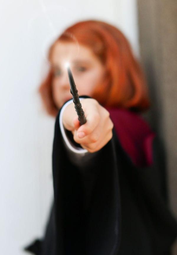 Zauberstab basteln mit Kindern zu Halloween oder Fasching – Ideen und Anleitungen hermione cosplay harry potter