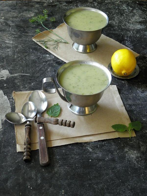 Zitronenmelisse Tee – Immunität und Psyche durch die Gaben der Natur stärken zucchini suppe melisse zitronig