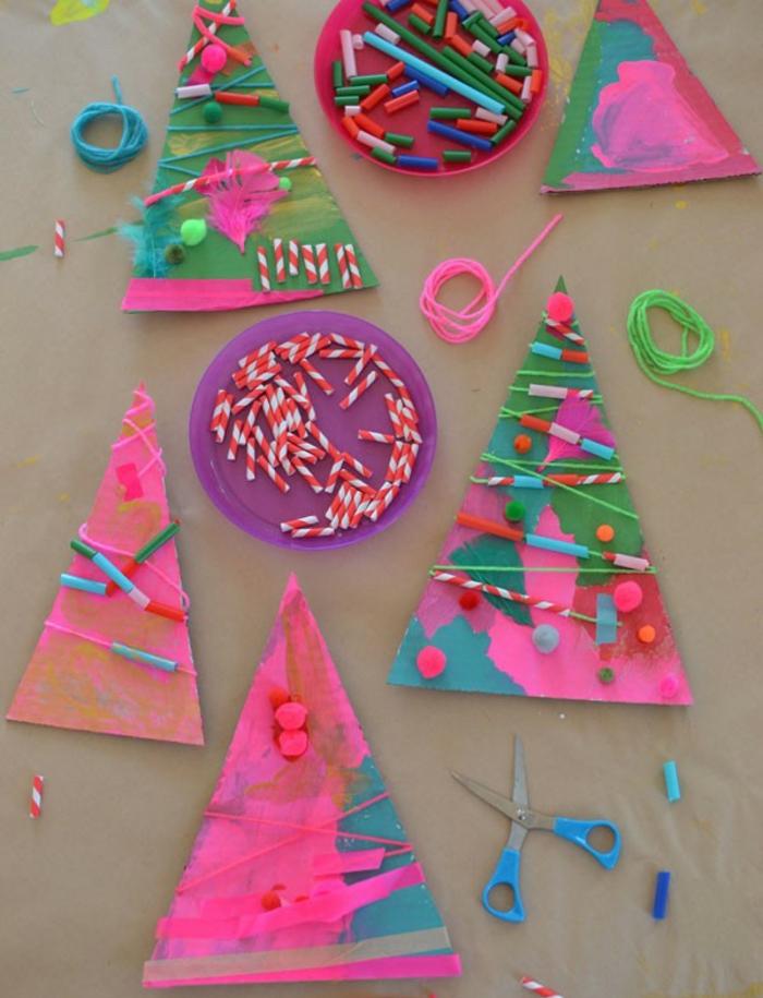 basteln mit 2jährigen weihnachtsgeschenke basteln diy geschenke kleben