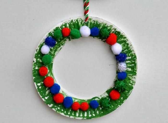 basteln mit 2jährigen weihnachtsgeschenke basteln diy geschenke pappteller