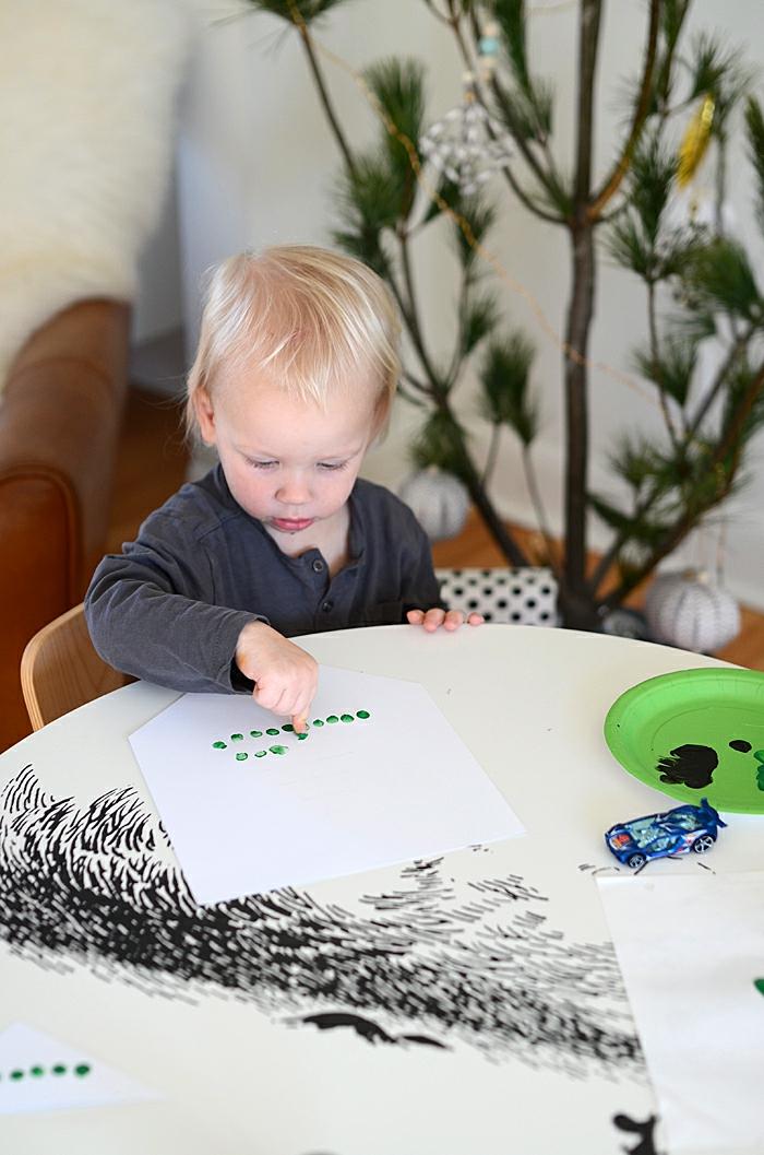 basteln mit 2jährigen weihnachtsgeschenke basteln diy ideen hande
