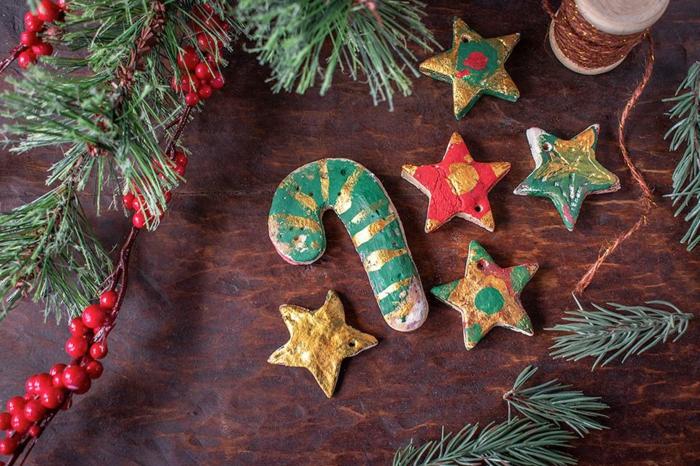 basteln mit 2jährigen weihnachtsgeschenke basteln diy ideen weihnachtsbaumschmuck