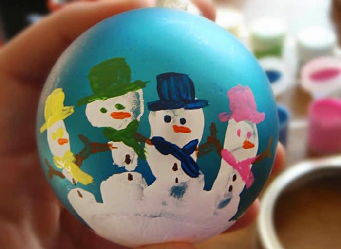 basteln mit 2jährigen weihnachtsgeschenke basteln mit kindern schneemann