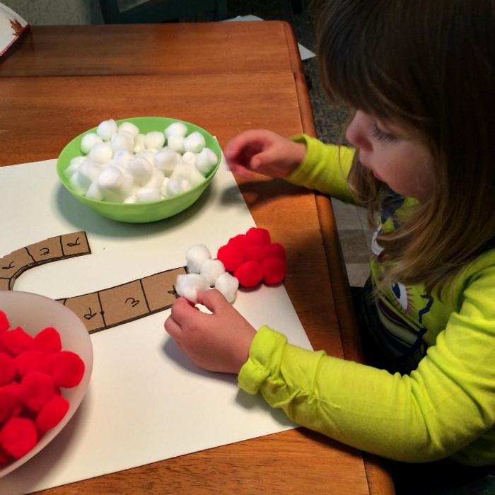 basteln mit 2jährigen weihnachtsgeschenke basteln mit kindern