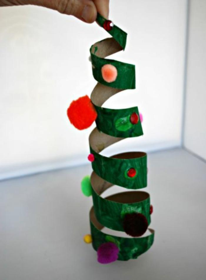 basteln mit 2jährigen weihnachtsgeschenke basteln tannenbaum