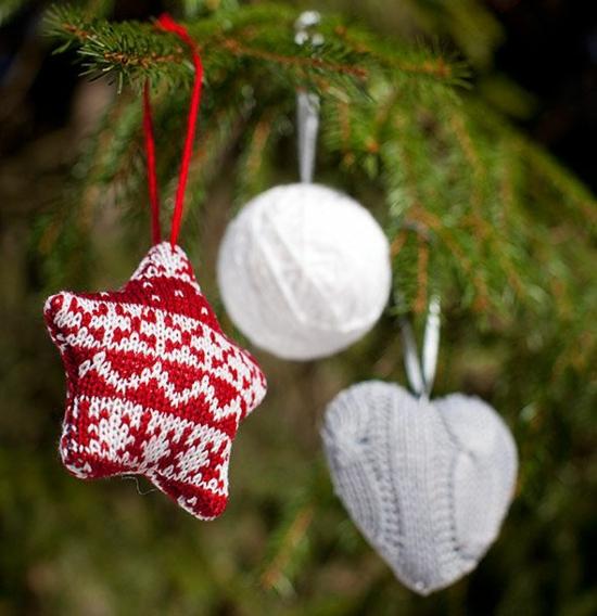 christbaumschmuck aus alten socken basteln