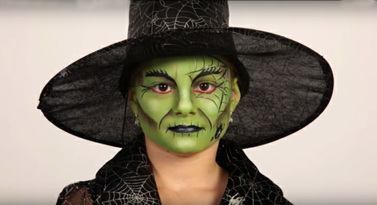 grüne hexe von oz schminken