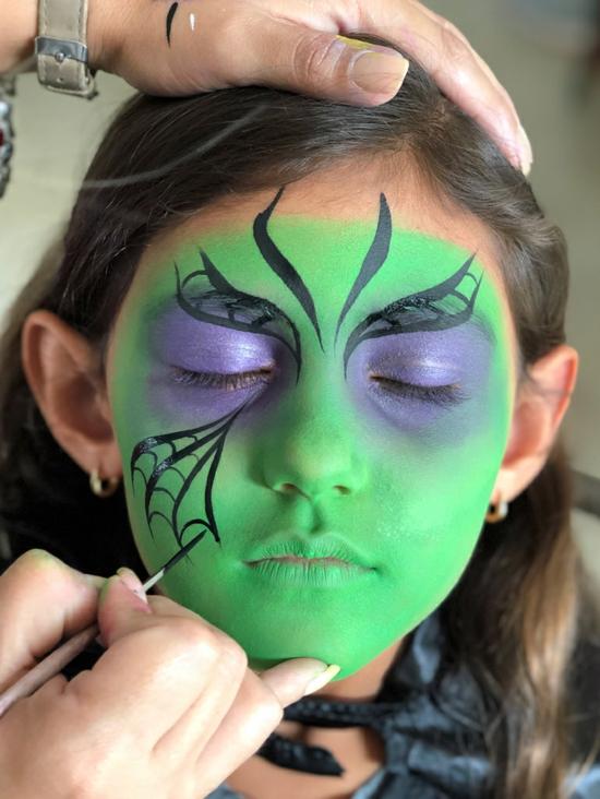 grüne kleine hexe schminken 05