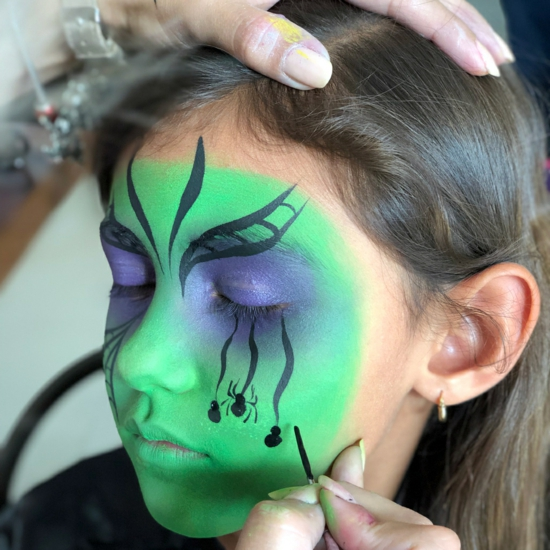 grüne kleine hexe schminken 08