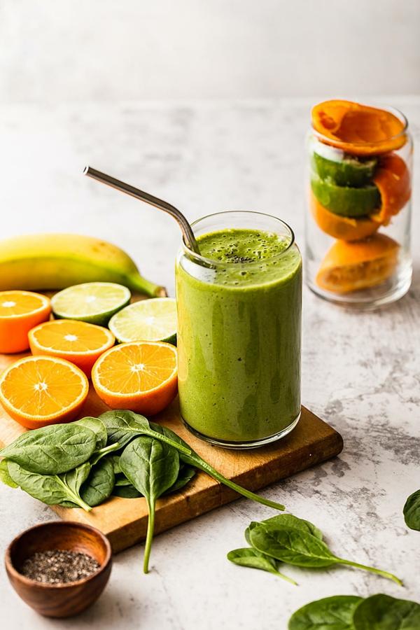 Οι πράσινες smoothies ενισχύουν το ανοσοποιητικό σύστημα