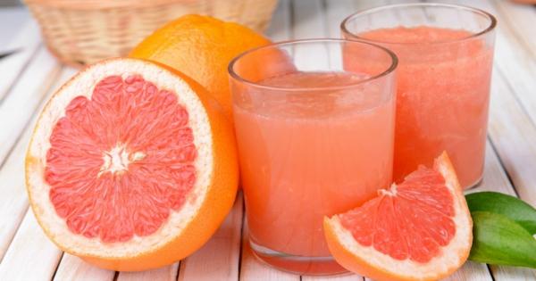 grapefruit gesund frisch gepresster saft