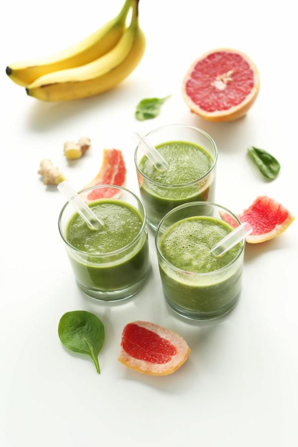 grapefruit gesund grüner smoothie