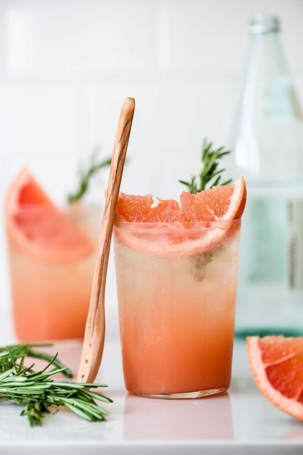 grapefruit gesund rosmarin detox wasser