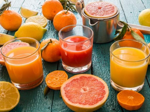 grapefruit gesund zitrussäfte selber machen