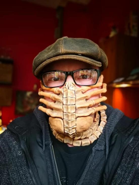halloween 3d mundschutzmasken