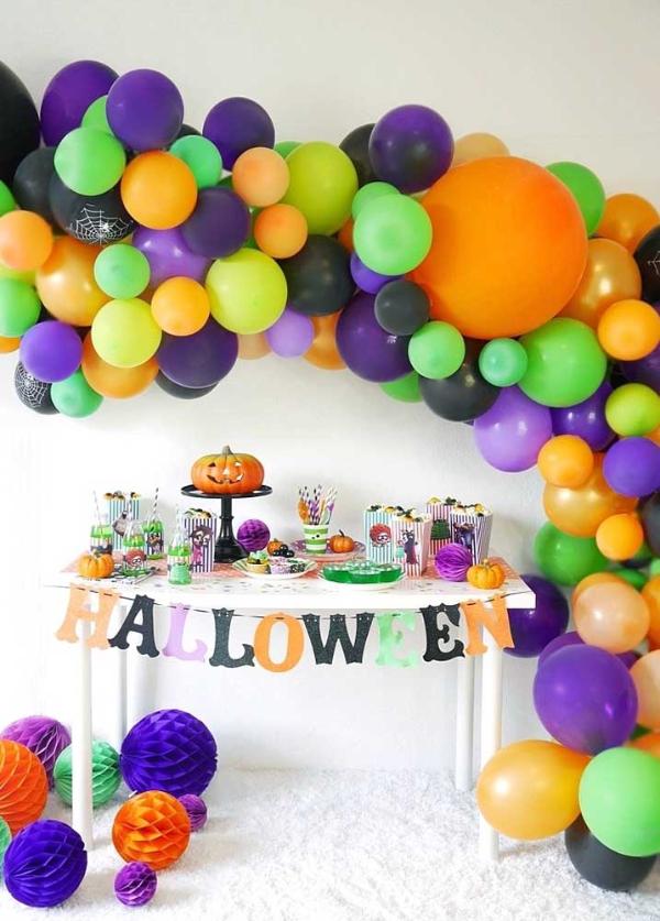 halloween deko bunte deko und schmuckideen