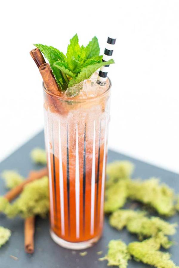 halloween deko cocktail selber machen