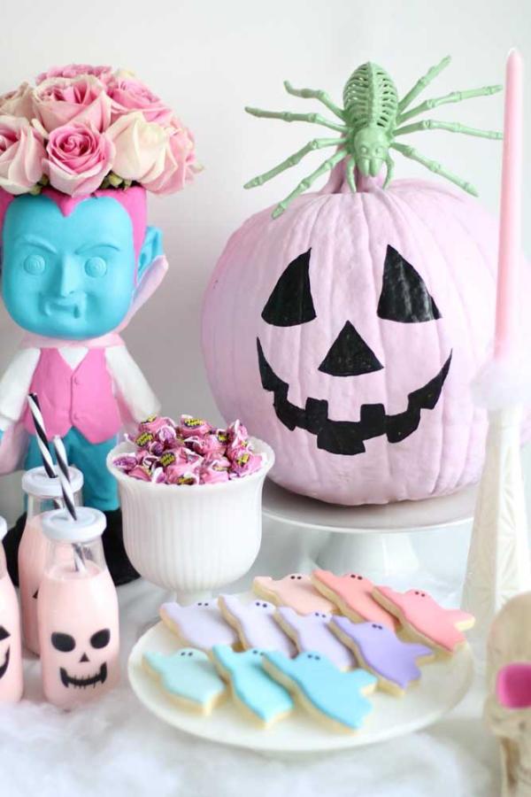 halloween deko diy kunst